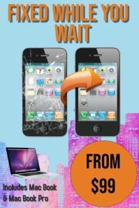 Phone Repair โปสเตอร์ template