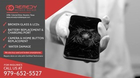 Phone Repair Service Digital Display Template