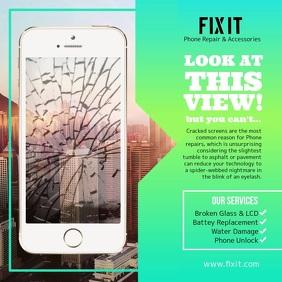 Phone Repair Square Video