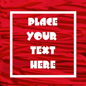 Photo blank frame to place your text