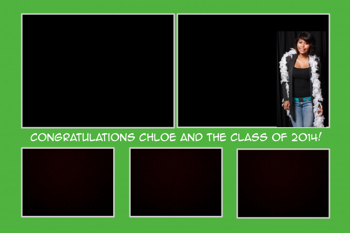 Photo Booth Template for Graduation | PosterMyWall