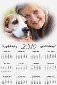 Photo Calendar Template