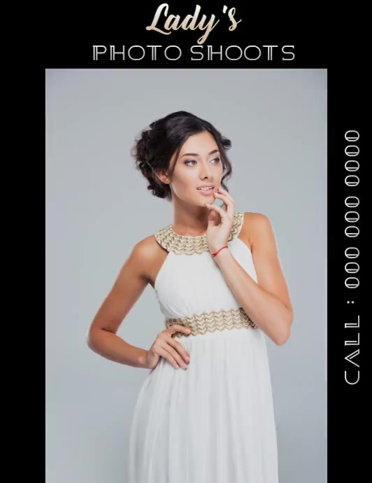 photo shoot photo shoot flyer VIDEO template