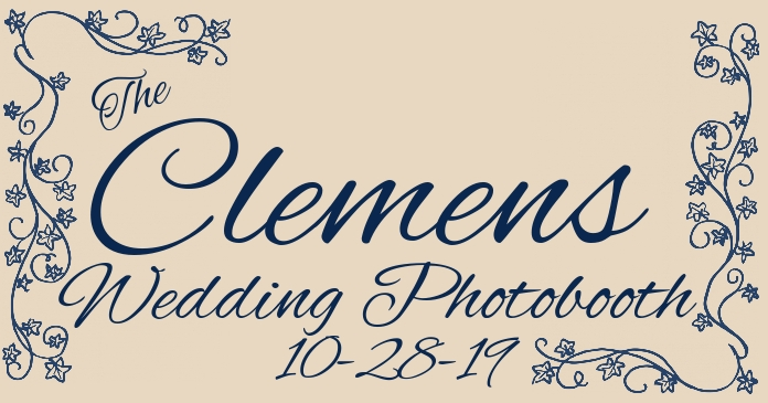 Photobooth Logo Wedding Monogram