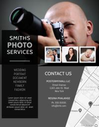 Photoghrapher Photo Services Flyer Design