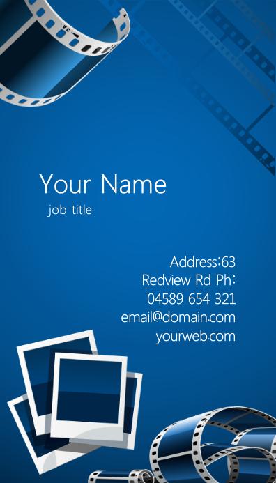 Photographer Business Card Template Postermywall