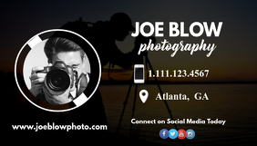 Photographer Business Card Kartu Bisnis template