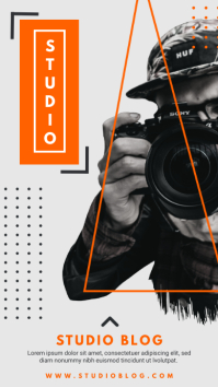 Photographer Studio WhatsApp Ad template
