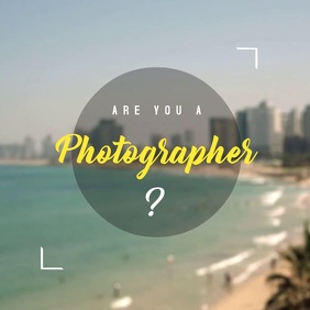 Photographer video Template