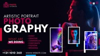 Photography Ad Twitter Post template