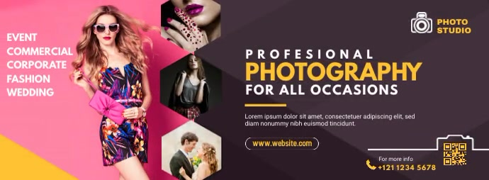 Photography Ad template