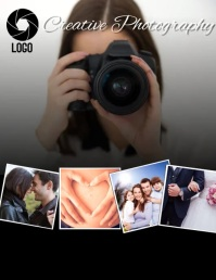 PHOTOGRAPHY AD FLYER TEMPLATE VIDEO Folder (US Letter)