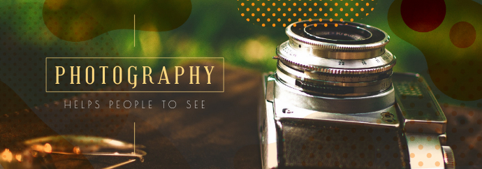 Photography Aesthetic Tumblr Header Template