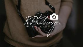 Photography Blog Header Design Template Blog-Kopfzeile