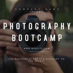 Photography Bootcamp Motion Poster