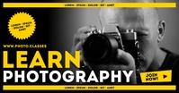 PHOTOGRAPHY CLASSES BANNER Gambar Bersama Facebook template