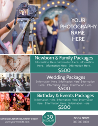 Photography Company Poster Flyer Template