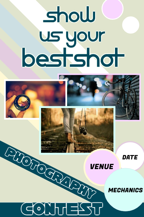 Photography Contest Poster Template Postermywall