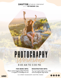 Photography Course Workshop Flyer