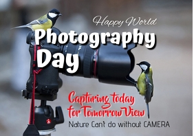 Photography Day A2 template