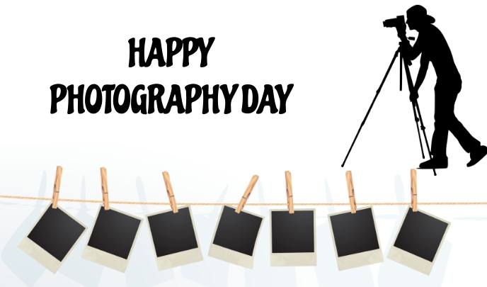 Photography Day Tag template