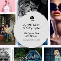 photography Instagram na Post template