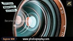 Photography Цифровой дисплей (16 : 9) template