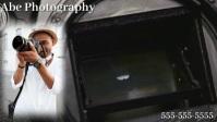 Photography Видеообложка профиля Facebook (16:9) template