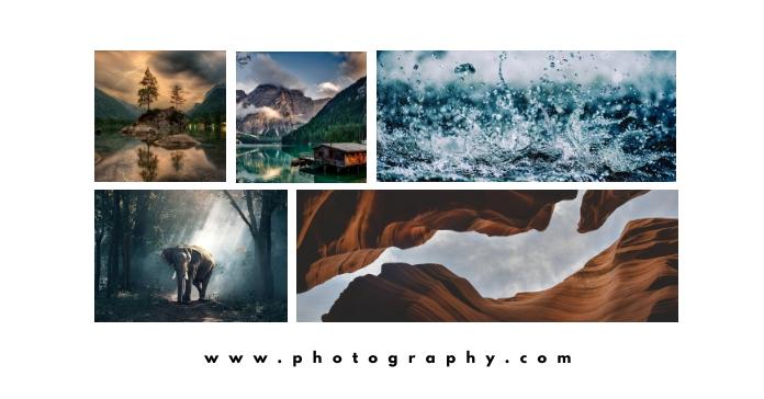 photography facebook advertisement template