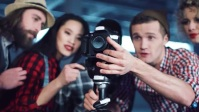 photography flyer YouTube 缩略图 template