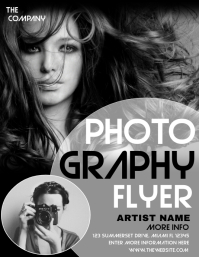 PHOTOGRAPHY Pamflet (VSA Brief) template