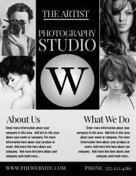 photography flyer template free
