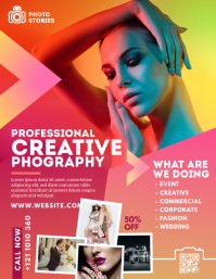 Photography Flyer Template Pamflet (VSA Brief)