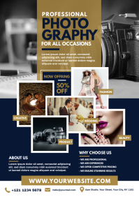 Photography Flyer Template A4