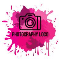 Photography logo design Logotipo template
