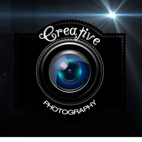 photography logo DIGITAL design template