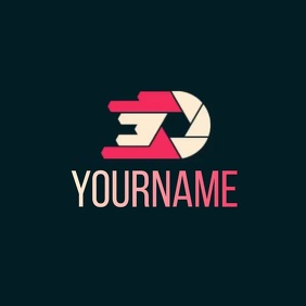 PHOTOGRAPHY LOGO SOCIAL MEDIA TEMPLATE Логотип