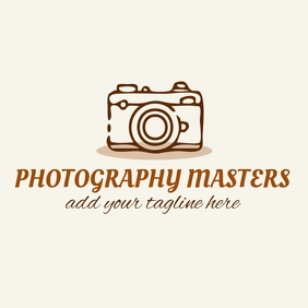 photography masters logo Logótipo template