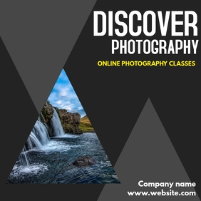 photography online classes instagram post template