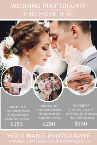 3 610 Wedding Photography Customizable Design Templates Postermywall