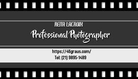 Photography Potographer photo portfolio and business card template