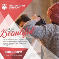 photography services advertisement Pos Instagram template