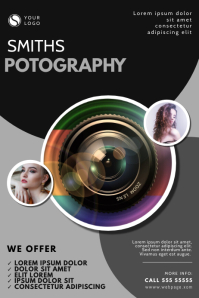 Photography Services Flyer Design Template