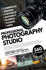 Photography Studio Poster