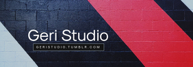 Photography Studio Tumblr Profile Banner Template