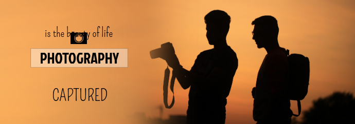 Photography Tumblr Banner Template