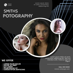 photography video design instagram template