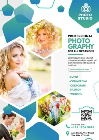 Photography Video Flyer A4 template