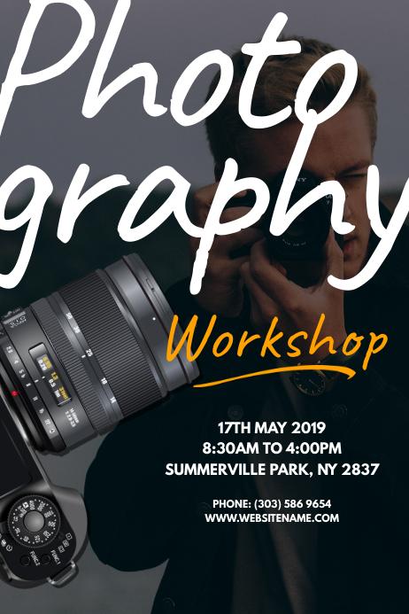 Photography Workshop Poster