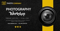 photography workshop modern advertisement des template